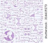 math education vector seamless... | Shutterstock .eps vector #316619273