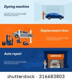 automotive dyeing and... | Shutterstock .eps vector #316683803