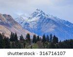 beautiful scenic of queen town... | Shutterstock . vector #316716107