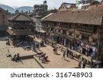 nepal  bhaktapur   november ...   Shutterstock . vector #316748903
