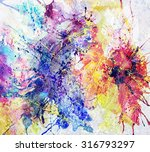 bright abstract background... | Shutterstock . vector #316793297
