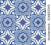 gorgeous seamless patchwork... | Shutterstock .eps vector #316832543