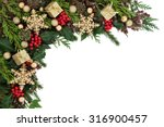 christmas abstract background... | Shutterstock . vector #316900457