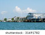 Beaufort Inlet With Restaurant...