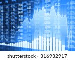 stock market concept and... | Shutterstock . vector #316932917
