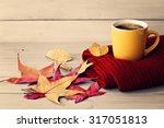 autumn coffee   Shutterstock . vector #317051813