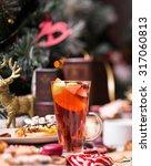 christmas sweets | Shutterstock . vector #317060813