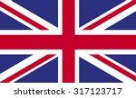 united kingdom flag uk england...   Shutterstock .eps vector #317123717