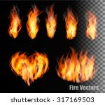 Collection Of Fire Vectors  ...