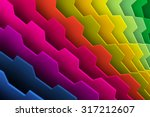 abstract colorful background 3d ... | Shutterstock . vector #317212607