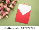 Flowers And Envelope