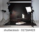 photo studio with modern... | Shutterstock . vector #317264423