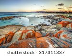 drammatic landscape in the... | Shutterstock . vector #317311337