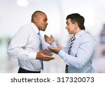 Small photo of Conflict Arguing.