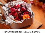 roasted fresh beetroot with...