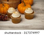 Pumpkin Spice Cupcakes And Min...