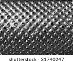 Detail Of A Steel Grater...