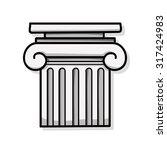 architecture doodle | Shutterstock .eps vector #317424983