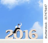 happy new year for 2016  ... | Shutterstock . vector #317475647