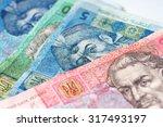 ukrainian money | Shutterstock . vector #317493197
