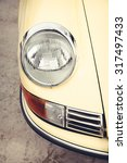 Постер, плакат: Old Porsche 911 Ferdinand