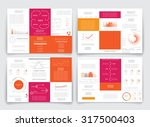 different infographic elements... | Shutterstock .eps vector #317500403