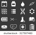 science icon set 4  simple...