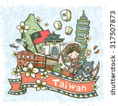 Lovely Hand Drawn Style Taiwan...