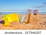 british seaside traditional... | Shutterstock . vector #317546207