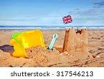 british seaside traditional... | Shutterstock . vector #317546213