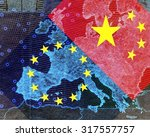 Europe And China     The Map O...
