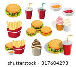 the collection of icons is not... | Shutterstock .eps vector #317604293