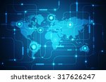 world map business background | Shutterstock . vector #317626247