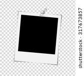 photo frame on white background ... | Shutterstock .eps vector #317673857