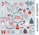 Set Of Christmas Design...