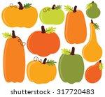 fall   autumn pumpkins   Shutterstock .eps vector #317720483