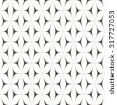 pattern with black curves... | Shutterstock .eps vector #317727053
