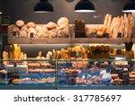 Modern Bakery With Assortment...