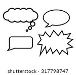 free hand draw of balloons text ...   Shutterstock .eps vector #317798747