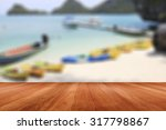 wooden background as wall and... | Shutterstock . vector #317798867