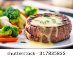fillet of beef with b       ... | Shutterstock . vector #317835833