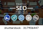 search engine optimization seo... | Shutterstock . vector #317906447
