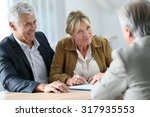 senior couple meeting real...   Shutterstock . vector #317935553