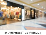department store shopping mall  ... | Shutterstock . vector #317985227