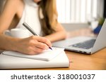 close up of student business... | Shutterstock . vector #318001037