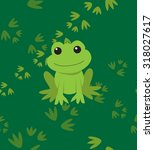 seamless vector pattern with... | Shutterstock .eps vector #318027617