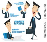 business infographic   business ... | Shutterstock .eps vector #318096323