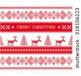 merry christmas. christmas... | Shutterstock .eps vector #318106223