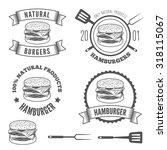 set of logo  labels  stickers... | Shutterstock .eps vector #318115067