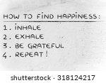 yoga inspired steps to... | Shutterstock . vector #318124217